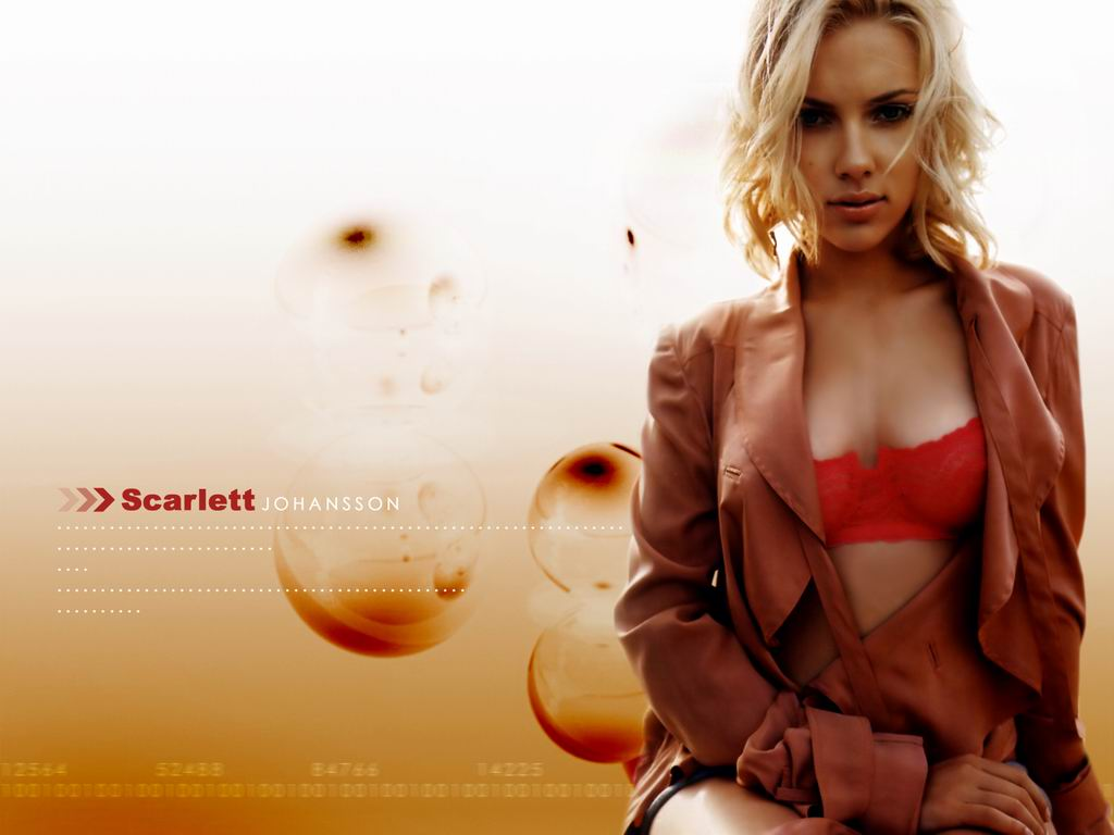 Scarlett johansson sexy Wallpaper 8 With 1024 x 768 Resolution ( 60kB )
