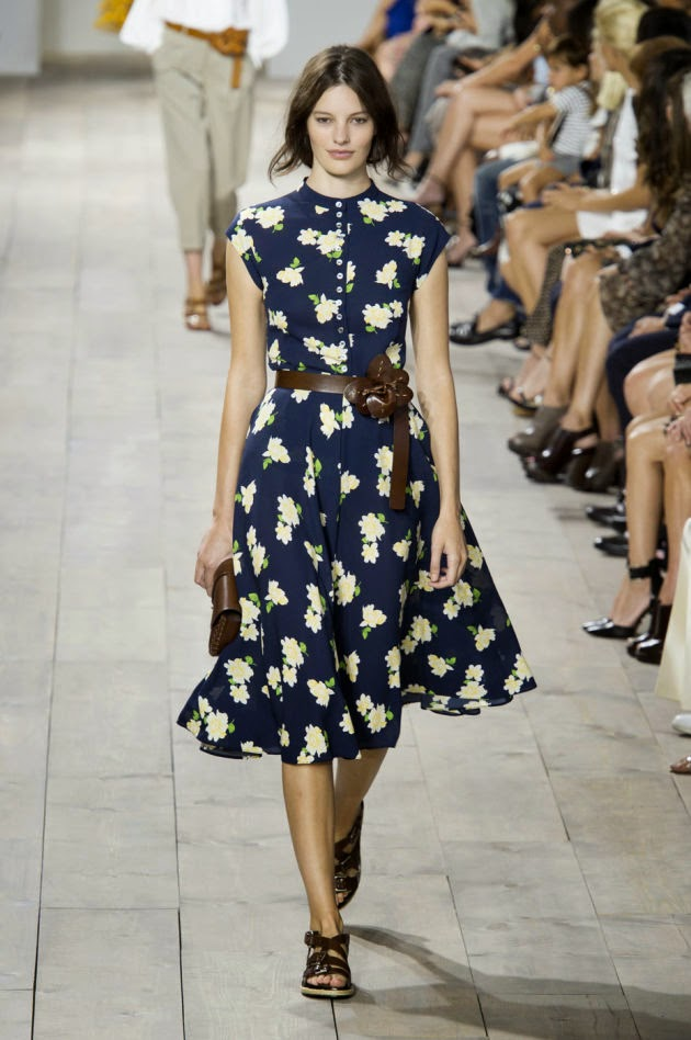Michael Kors Goes Full-On Preppy for Spring 2015