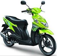 Suzuki Nex 110 green color