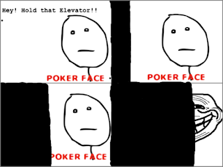 trollface, trollface hold that elevator poker face, trollface elevator, poker face