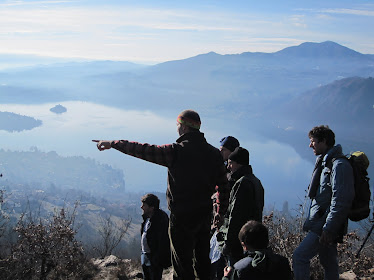 escursione sulle alture del LAGO D'ORTA)