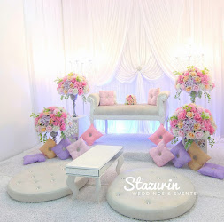 PELAMIN NIKAH TUNANG PASTEL PINK LAVENDER PEACH