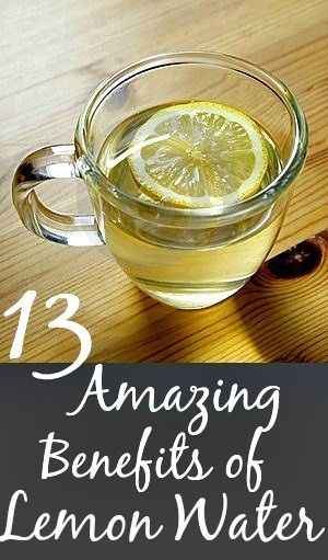 13 Amazing Benefits Of Drinking Lemon Water