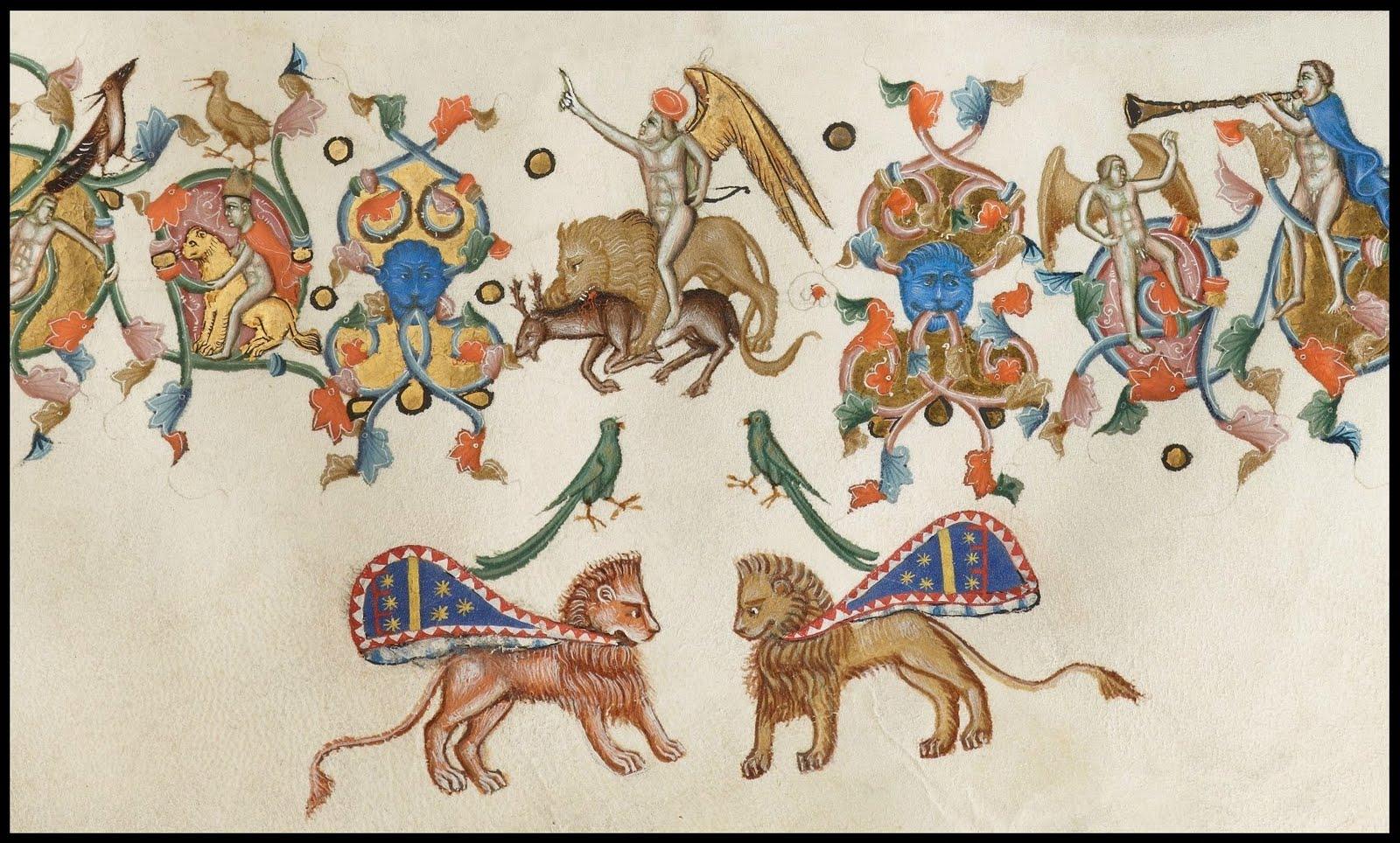 manuscript border decoration