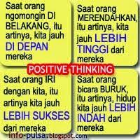 dp bbm galau positif