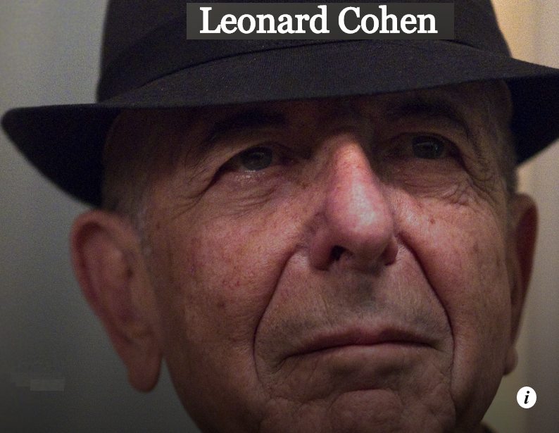 Leonard Cohen - A Thousand Kisses Deep