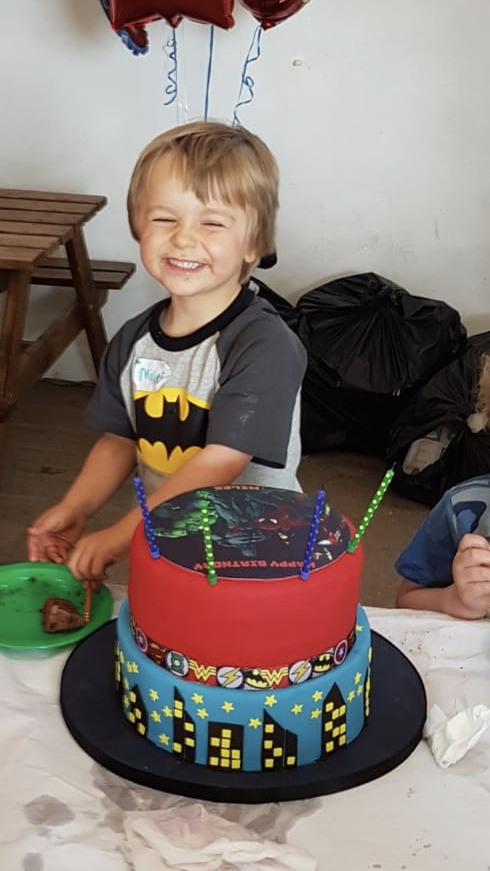 Miles Alexander 4th Birthday