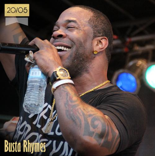 20 de mayo | Busta Rhymes - @BustaRhymes | Info + vídeos