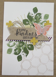 dry embossing  Zena Kennedy independent Stampin Up demonstrator,