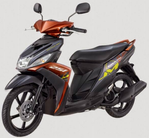 Yamaha Mio M3 125 Blue Core Warna Hashtag Brown
