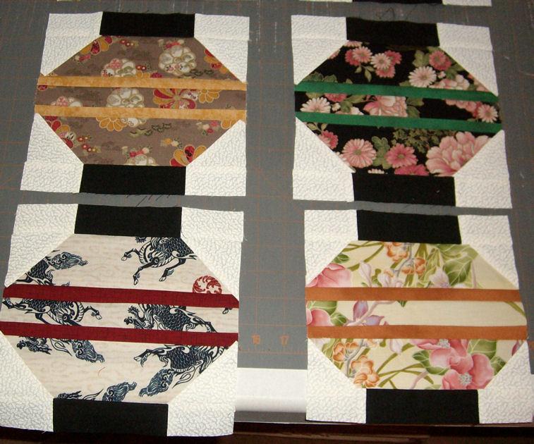 BlackKatKreations: Japanese Lantern Quilt Blocks : japanese lantern quilt pattern - Adamdwight.com