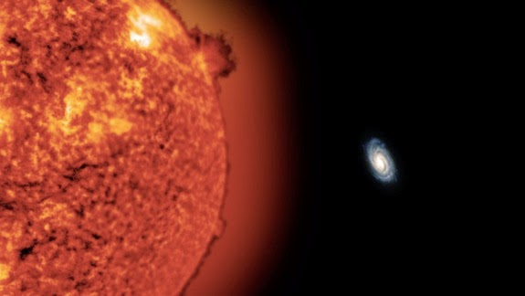 Ditemukan! Dua Bintang Terjauh di Galaksi Bima Sakti