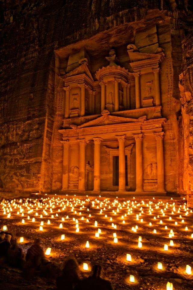 Noche en Petra