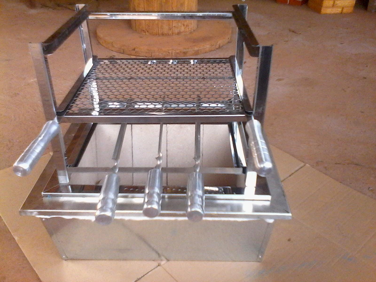city churrasqueiras e pr moldados churrasqueira caixa refrat ria de embutir com kit manual inox. Black Bedroom Furniture Sets. Home Design Ideas