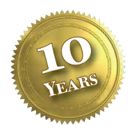 Tenth anniversary seal