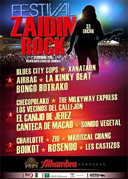 Festival de Rock del Zaidín en Granada