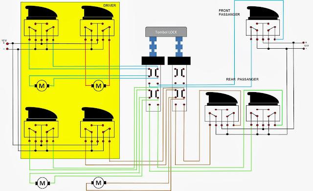 Car Door Switch Wiring Diagram : Do it your self improvement power window taruna