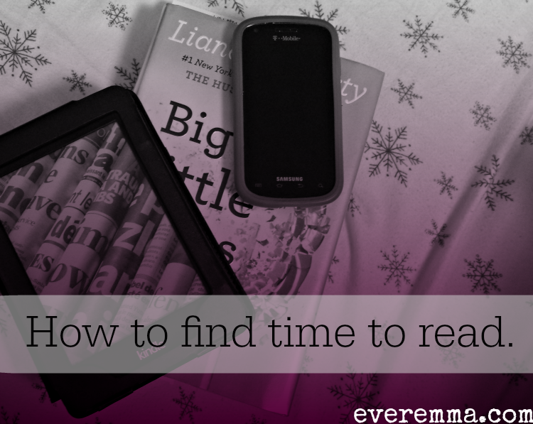 How to find time to read.
