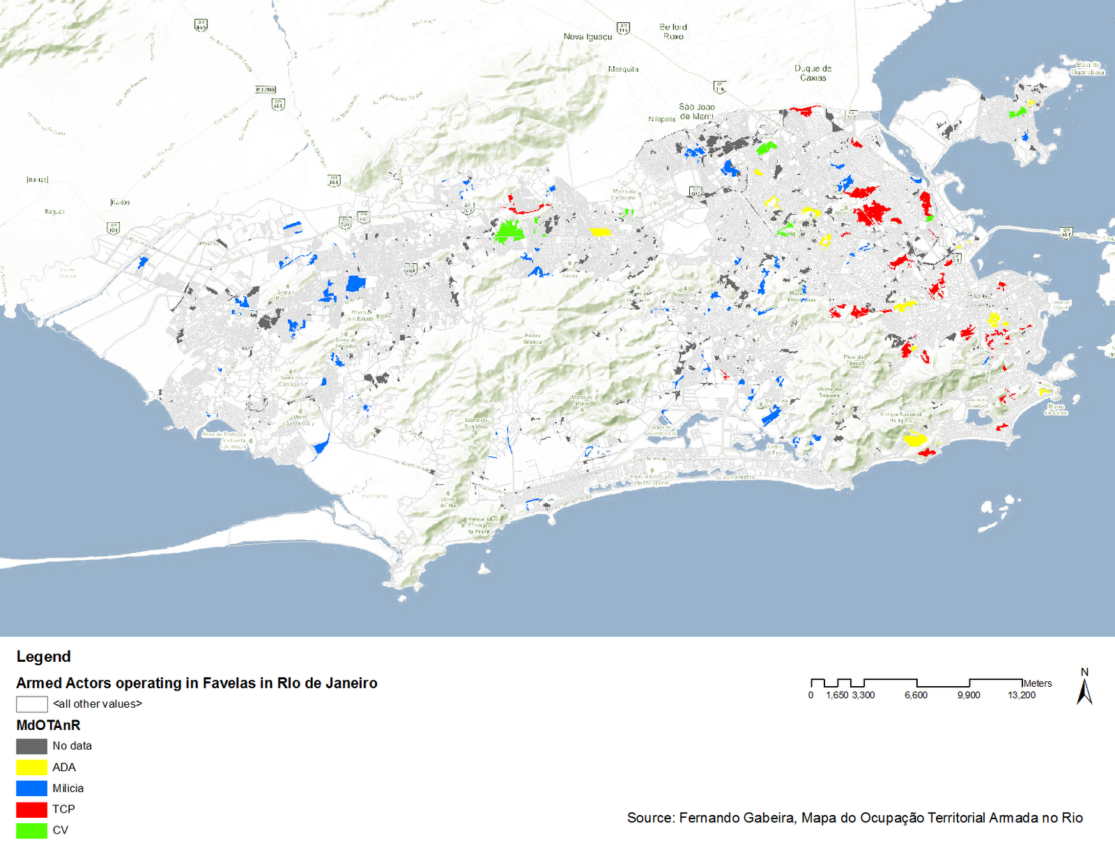 Map Of Rio De Janeiro With Tourist Attractions – Rio De Janeiro Tourist Attractions Map
