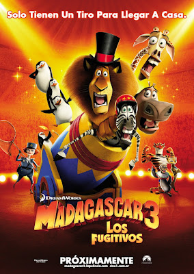 Madagascar 3 (2012) Cam 953MB Latino avi varios servidores