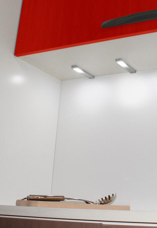 luz LED cocina