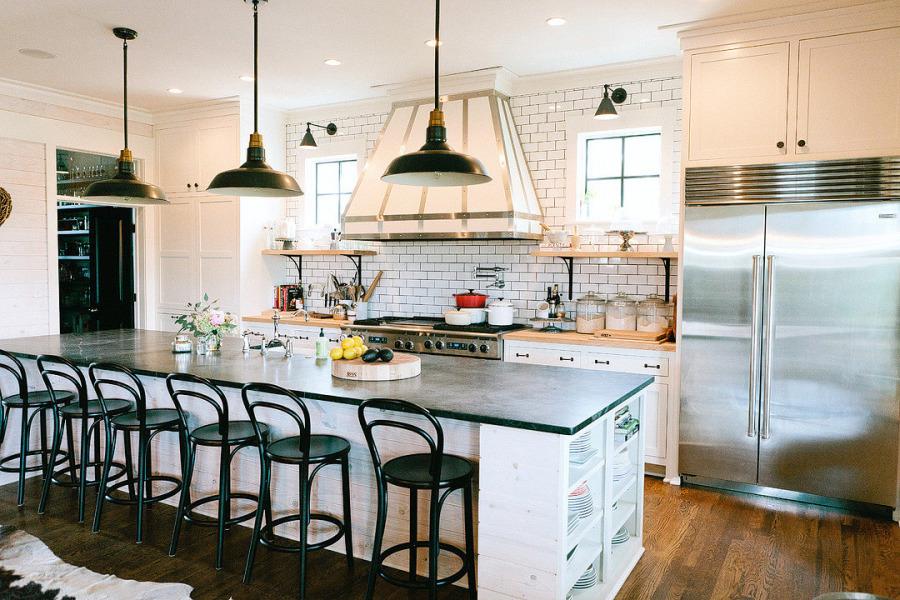 wystrój wnętrz, wnętrza, urządzanie mieszkania, dom, home decor, dekoracje, aranżacje, kuchnia, wyspa kuchenna