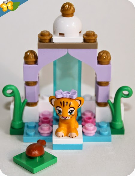 LEGO® Friends Animaux - Série 4 - Le tigre et son temple asiatique
