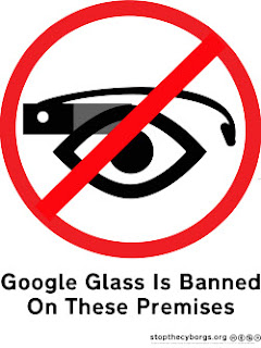 Google glasses banned in strip clubs and cinemas