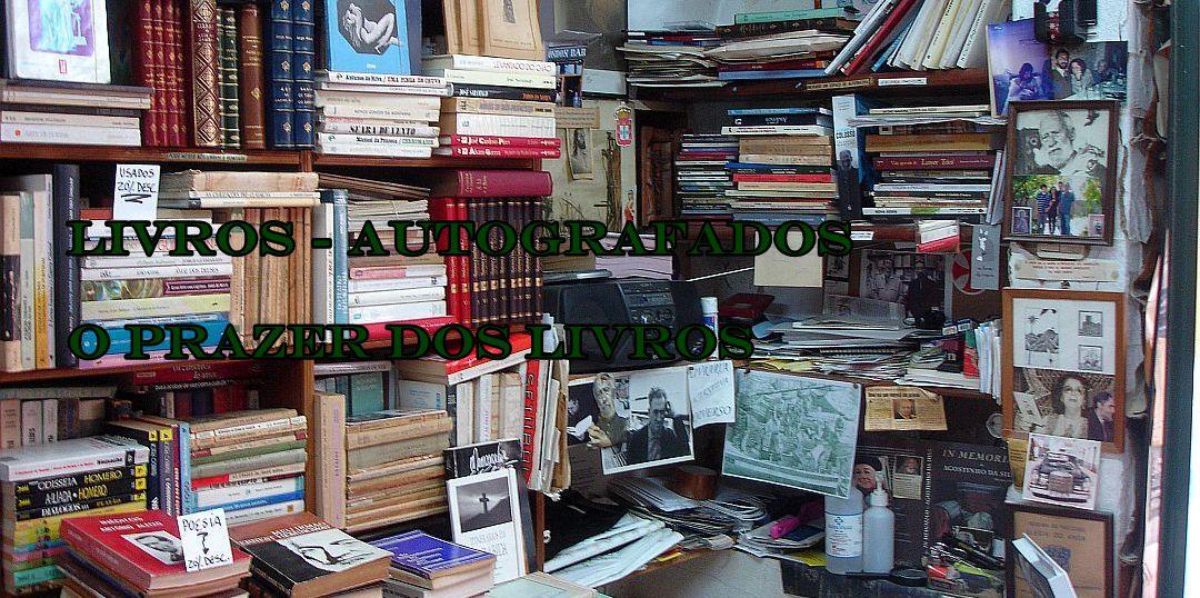 livros-autografados / o prazer dos livros