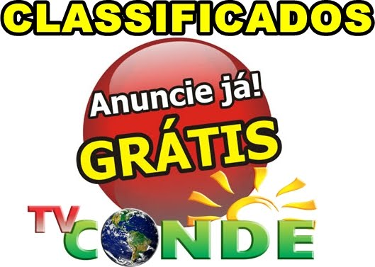 Classificados da TV Conde