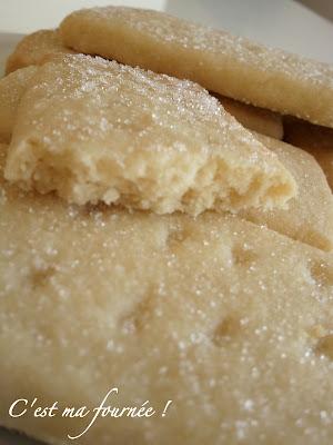 recette petits sables au beurre