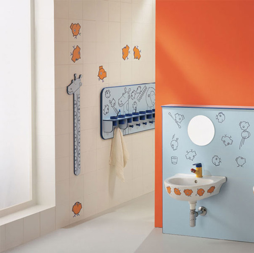 ... Your Kids To Go Brush Their Teeth Before Bed And Wash Their Hands  Before Dinner. Learn More About These Kid Friendly Bathroom Designs At  Ponte Giulio.