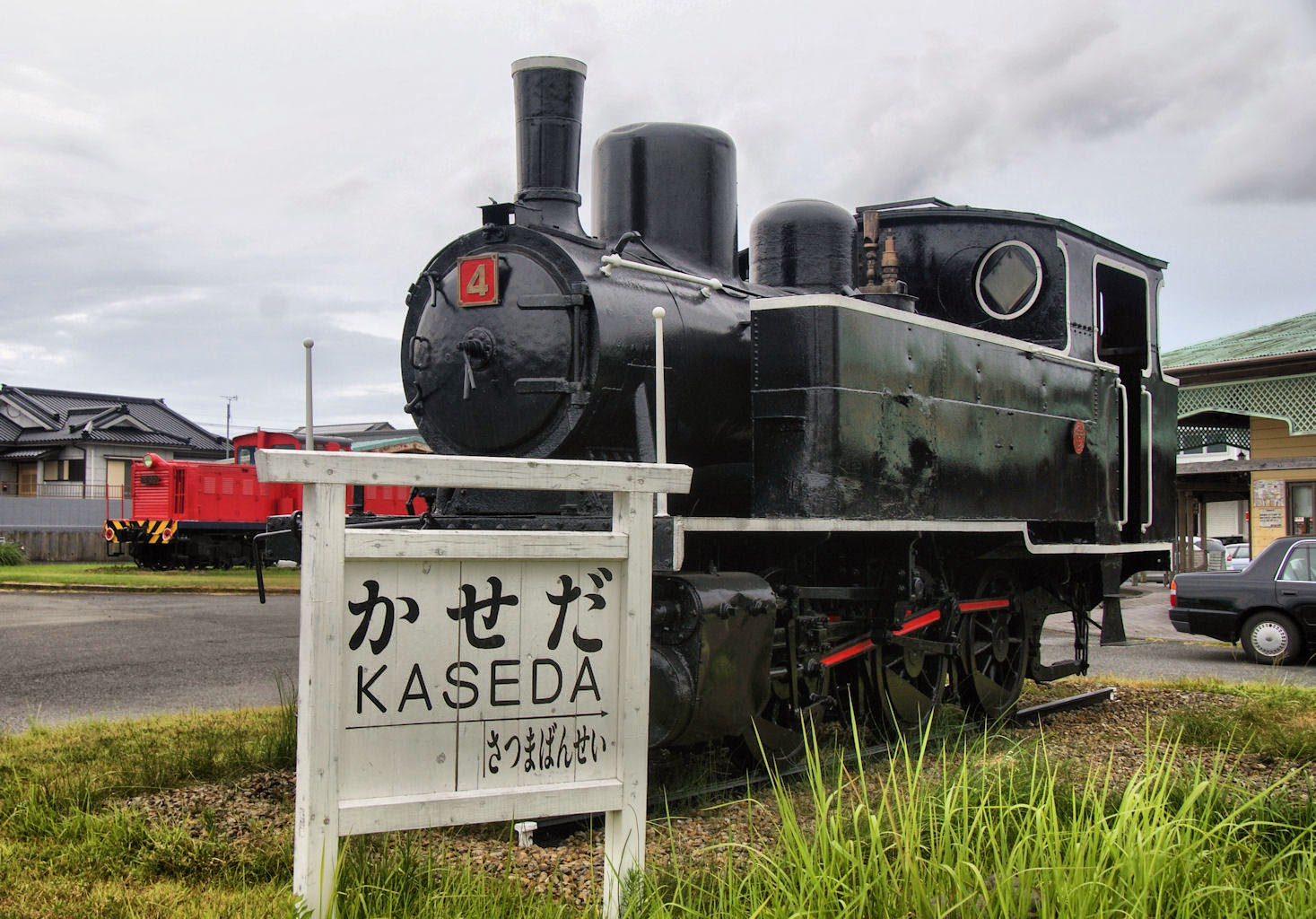Kaseda steam locomotive
