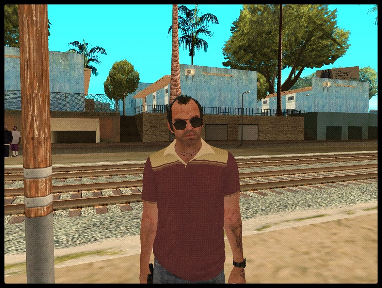 GTA SA - Trevor Phillips Convertido Do GTA V