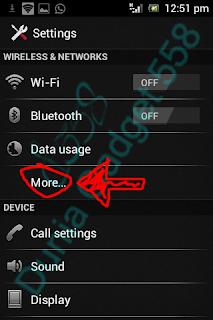 Mematikan internet di Android