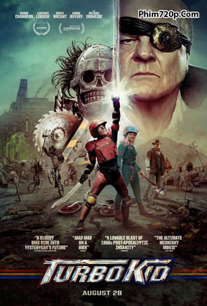 Turbo Kid 2015 poster