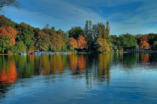 hồ Kleinhesselohe