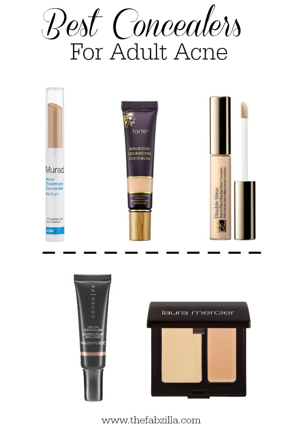 Best Concealers for Adult Acne, Top Concealers for Acne, Concealers for acne-prone skin