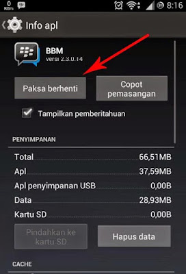 Cara Mudah Menghilangkan Iklan di BBM Android