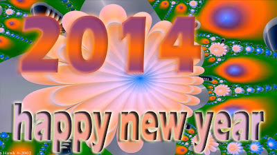 Happy New Year Greetings 2014 - Lovely Greeting and Wishes