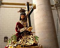 Magallón Iglesia San Lorenzo Martir Castillo de Magallón Moncayo Santo Cristo con la Cruz a Cuestas