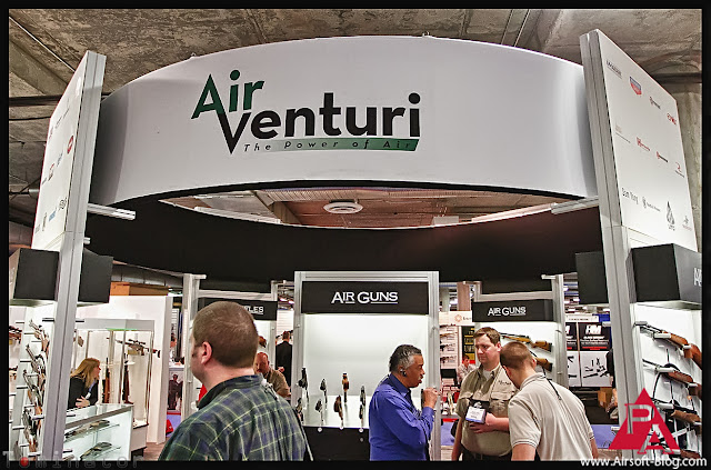 shot show 2012, Pyramyd Air booth, Air Venturi booth, Shot Show 2012 Air Guns, Shot Show 2012 Airsoft, Pyramyd Airsoft Blog, Tom Harris Media, Tominator,