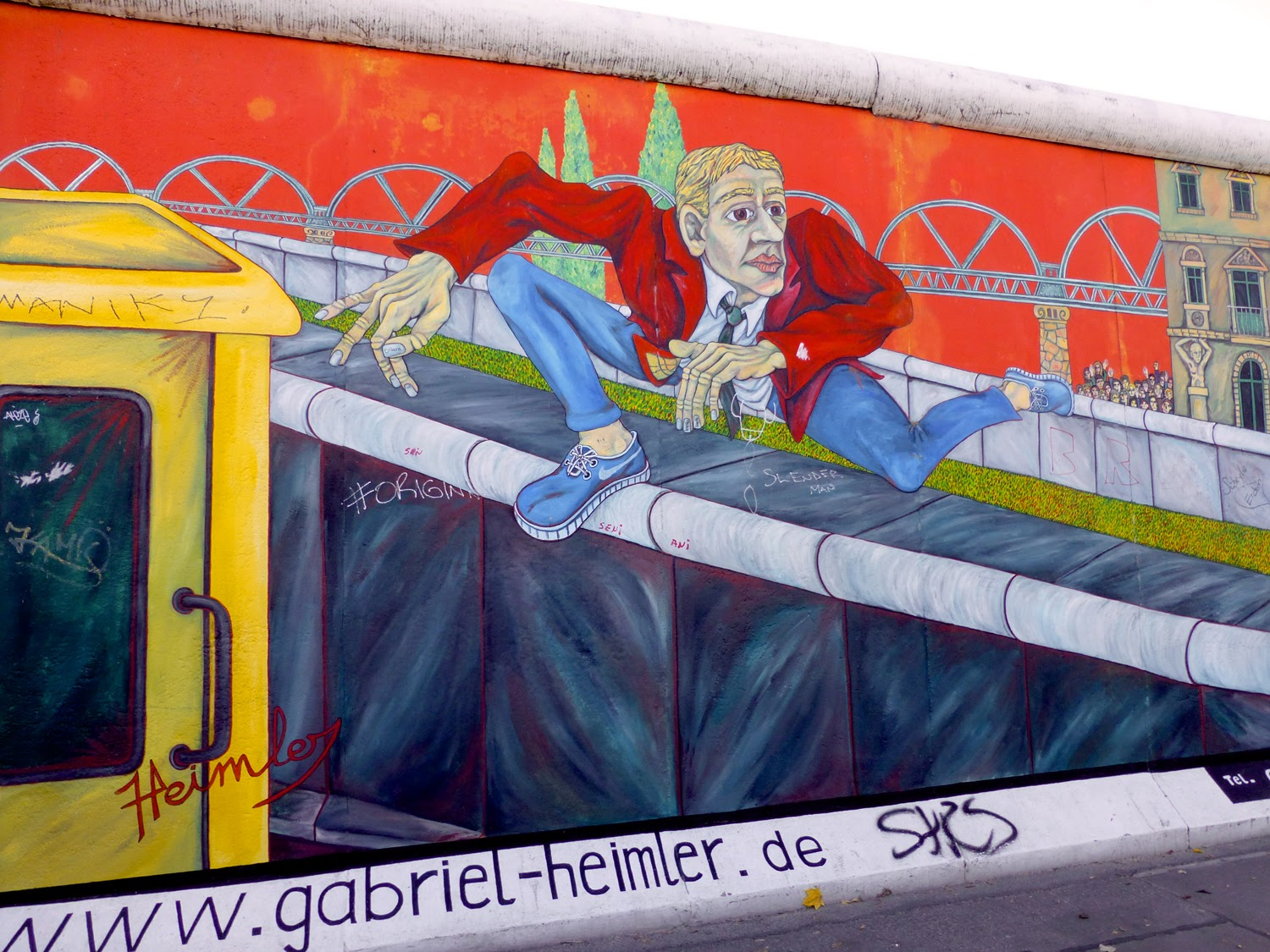 Berliner Mauer, East Side Gallery