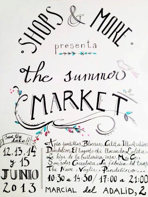 UN PLAN PARA EL FINDE: SUMMER MARKET DE SHOPS AND MORE