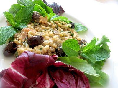 barley lentil herb salad