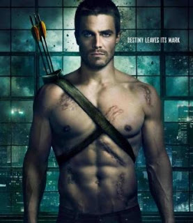 Stephen Amell Ripped super hero body
