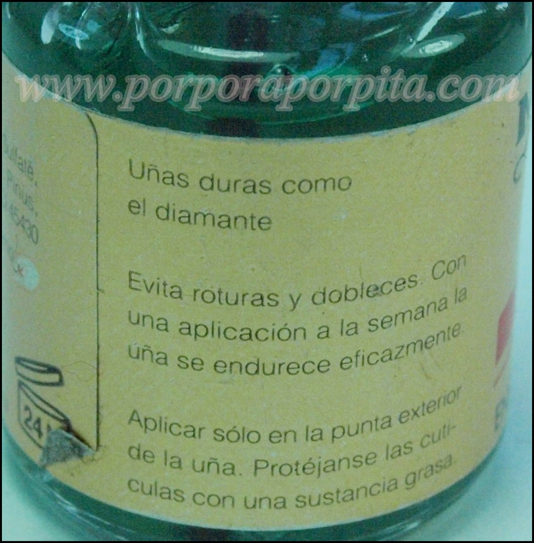 Review Científico de MAVALA (endurecedor de uñas) - Pórpora Porpita