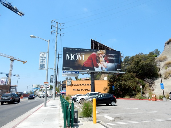 Mom sitcom 2015 Emmy billboard
