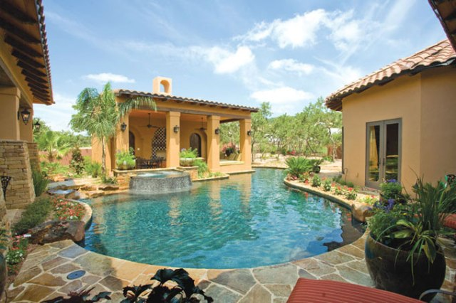 Garden Swimming Pool Design | Home Improvement and Remodeling Ideas