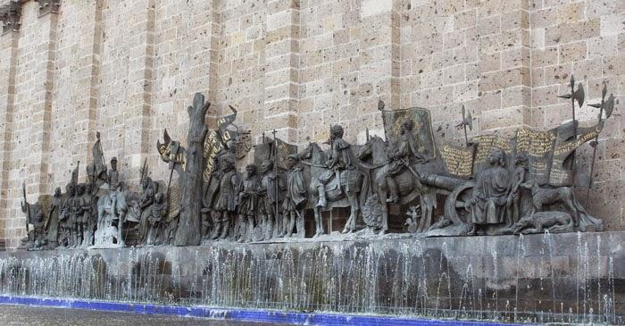 Plaza Fundadores - Guadalajara, Jalisco